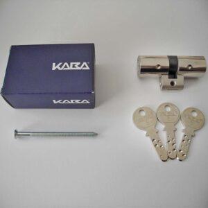 KABA 8 original Schlüssel-Set Doppelzylinder 3 Schlüssel Fischer Fäh GmbH DORMAKABA